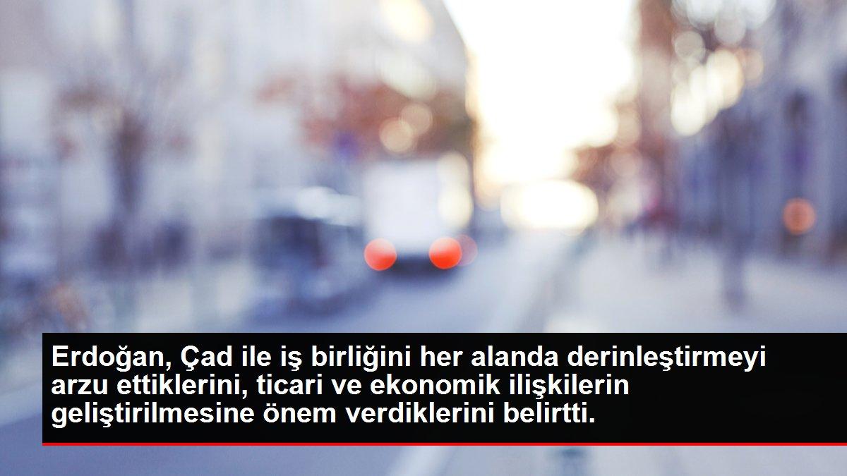Erdoğan, Çad ile iş birliğini her alanda derinleştirmeyi arzu ettiklerini, ticari ve ekonomik ilişkilerin geliştirilmesine önem verdiklerini belirtti.