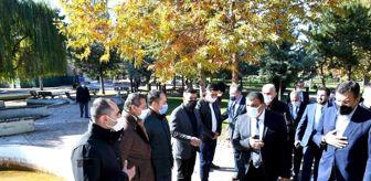 Malatya: Gürkan, Sümer Park esnaflarının sorunlarını dinledi