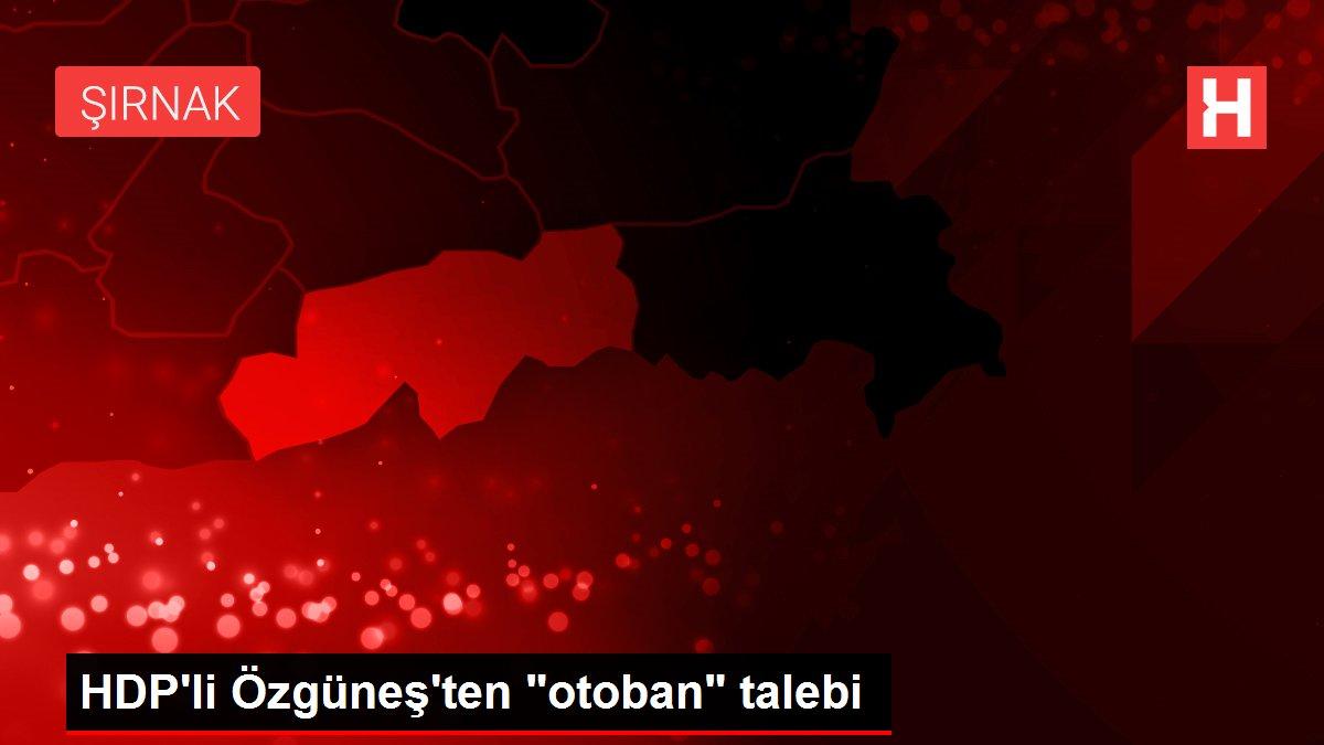 HDP'li Özgüneş'ten