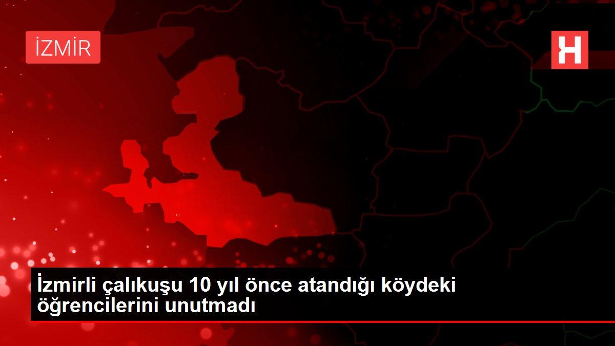 İzmirli çalıkuşu 10 yıl önce atandığı köydeki öğrencilerini unutmadı