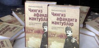 Özbek: Özbek yazar Nebican Baki'nin 'Enver Paşa'nın Vasiyeti' eseri tanıtıldı