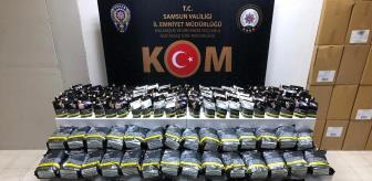 Tütün: Son dakika: Samsun'da kaçak tütün operasyonu