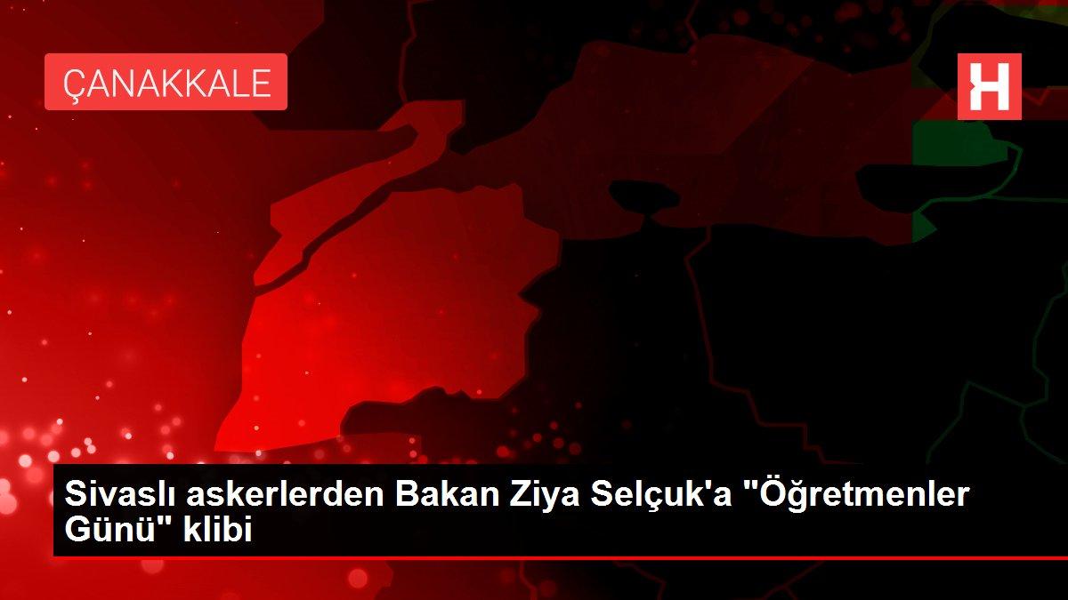 Sivaslı askerlerden Bakan Ziya Selçuk'a