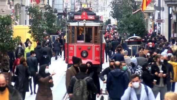 Taksim'de maske ve sigara denetimi; kuralları çoğunlukla yabancılar ihlal ediyor