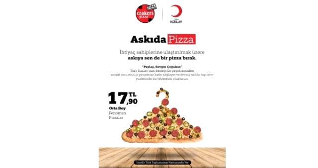 Askıda Pizza nedir? Kızılay'dan Askıda Pizza uygulaması nedir? Askıda Pizza sosyal sorumluluk projesi için ne yapmak gerekir?