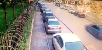 Yeşilköy: Bakırköy'de 'yok artık' dedirten hırsızlık kamerada