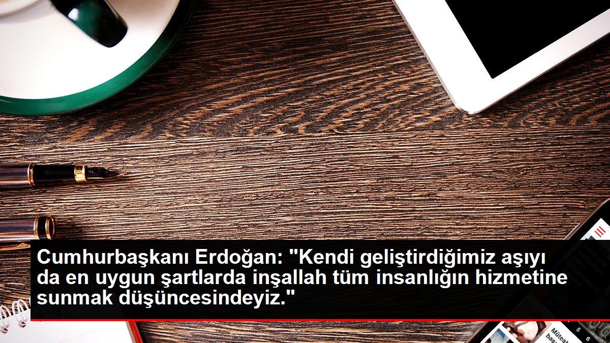 Son dakika politika: Cumhurbaşkanı Erdoğan: