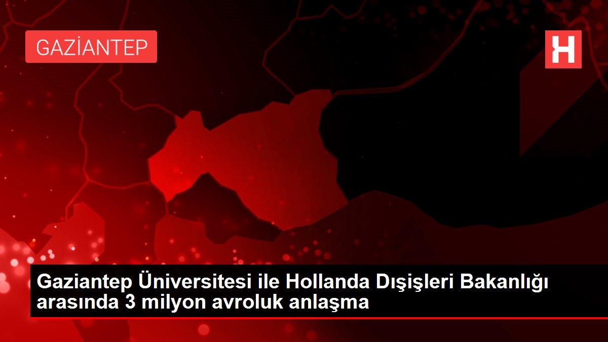 Son Dakika | Gaziantep Üniversitesi ile Hollanda Dışişleri Bakanlığı arasında 3 milyon avroluk anlaşma