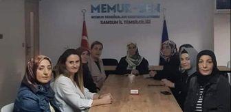 Samsun: Memur-Sen Kadın Komisyonu: 'Şiddet virüsünün aşısı örgütlü mücadeledir'