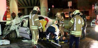 Muhammet Avcı: Otomobil park halindeki otobüse arkadan çarptı: 1'i ağır, 2 yaralı