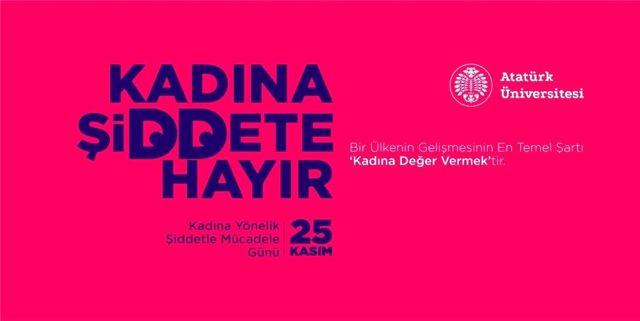 Rektör Çomaklı'dan 25 Kasım Kadına Yönelik Şiddetle Mücadele Günü mesajı