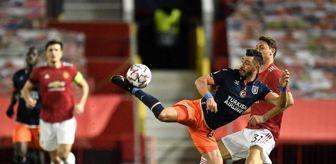 İstanbul: Şampiyonlar Ligi: Manchester United: 4 Medipol Başakşehir: 1 (Maç sonucu)