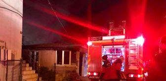 Sakarya: Son dakika! Tek katlı evde çıkan yangın söndürüldü