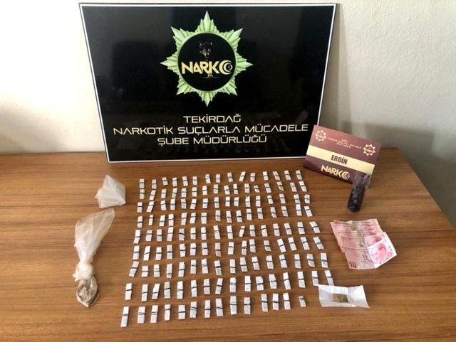 Son dakika haberleri: Tekirdağ'da uyuşturucu operasyonu: 1 gözaltı
