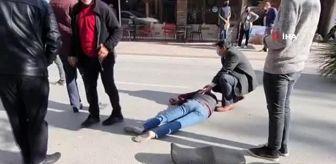 Bursa: Traktör ve motosiklet kafa kafaya çarpıştı