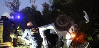 Soğucak: Son dakika haber! Virajı alamayan araç tarlaya uçtu, sürücü hayatını kaybetti
