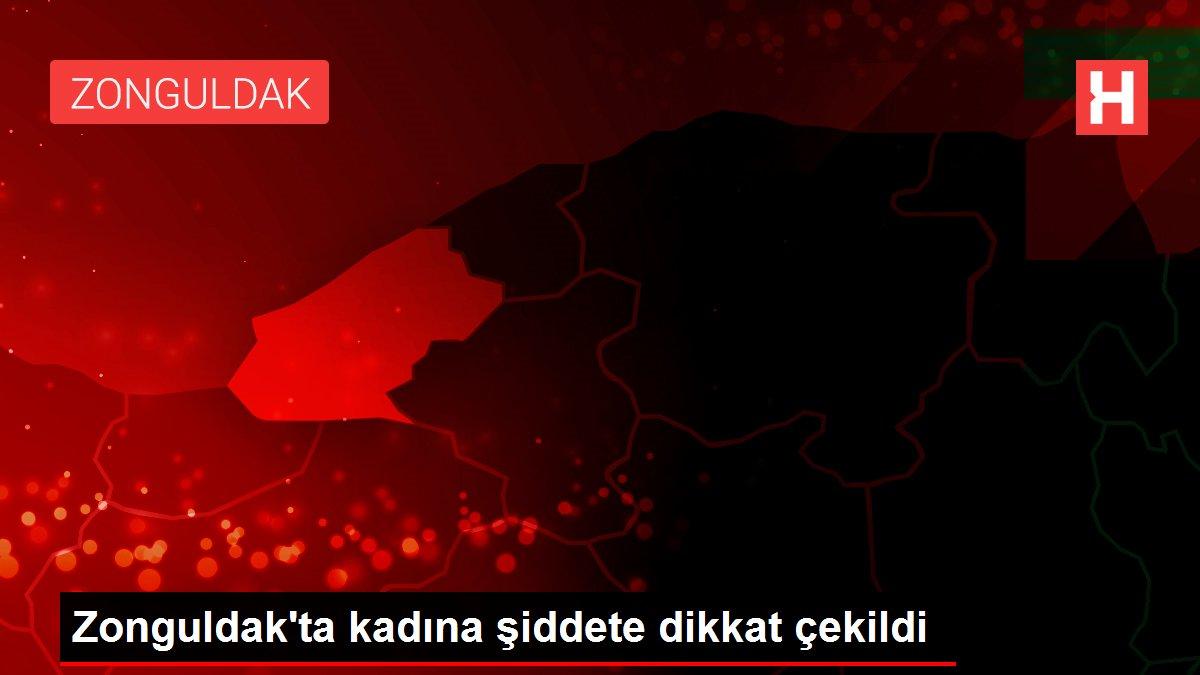Zonguldak'ta kadına şiddete dikkat çekildi