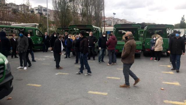 İstanbul'da tedirgin eden görüntü! Cenazeler otobüsle taşındı