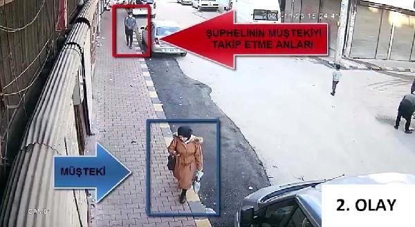 Son dakika haberi   Kameradan belirlenen kapkaç şüphelisi yakalandı