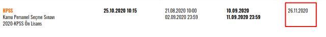ÖSYM Son Dakika! 2020 KPSS ön lisans sonuçları ne zaman açıklanacak? KPSS ön lisans sonuçları sorgulama ekranı!