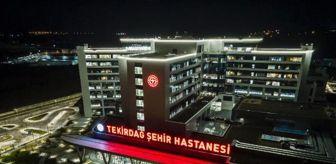 Tekirdağ: Tekirdağ Şehir Hastanesi'ne dijital altyapı desteği
