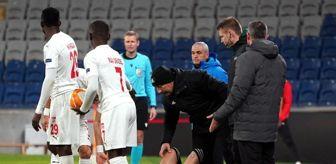 Jandarma Arama Kurtarma: UEFA Avrupa Ligi: Karabağ: 1 - DG Sivasspor: 1 (İlk yarı)