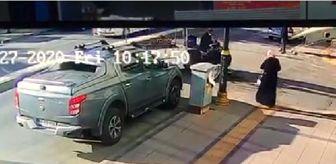 Mevla: ATV ile bisikletin çarpıştığı kaza kamerada