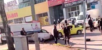 Bursa: Bursa'da kontrolden çıkan otomobil park halindeki araçların arasına daldı...O anlar kameraya yansıdı