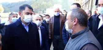 Trabzon: 'Dereli ve Doğankent'teki afet konutlarını 2021 yılı Haziran ayı içinde sahiplerine teslim ediyor olacağız'