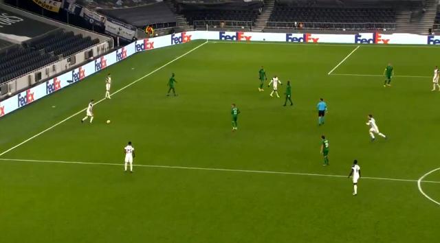 Harry Winks'in 50 metreden attığı gol, UEFA Avrupa Ligi'ne damga vurdu
