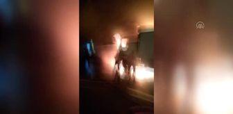 Bolu: Kamyon yangını Bolu Dağı Tüneli'nde ulaşımı aksattı