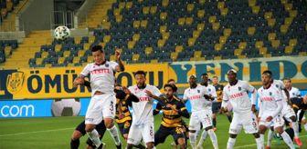 Ankara: Süper Lig: MKE Ankaragücü: 0 Trabzonspor: 1 (İlk yarı)