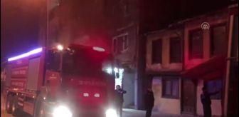 Bursa: Son dakika haberi: Ahşap evde çıkan yangın söndürüldü
