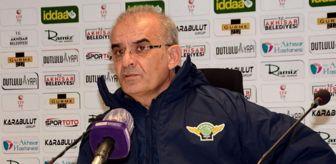 Manisa: Akhisarspor - Ankaraspor maçının ardından