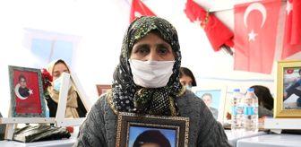 Adalet: Evlat nöbetini sürdüren anne terör milislerinin en ağır ceza almasını istiyor