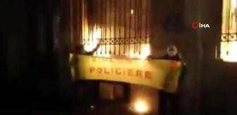 Bastille Meydanı: Son dakika: Fransa'da protestocular Merkez Bankasını ateşe verdi