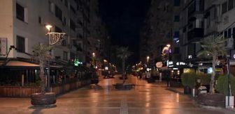 İzmir: İzmir, sokağa çıkma kısıtlamasının ardından sessizliğe büründü