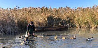 Mustafakemalpaşa: Kayığını gizleyip kaçan kaçak avcıya 13 bin lira para cezası