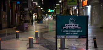 Bekçi: Kısıtlamanın ikinci haftasında Ordu sokakları ıssız kaldı