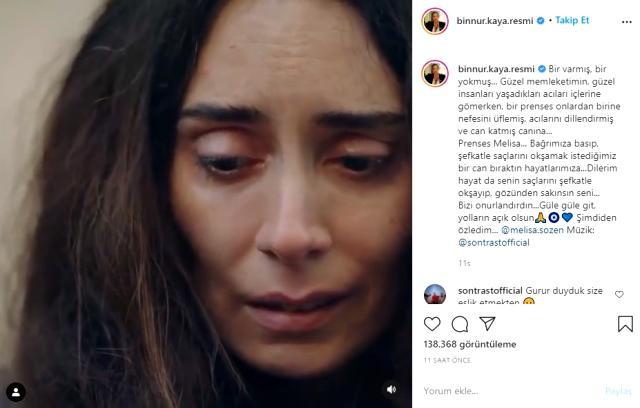 Melisa Sözen, Alya karakterini oynadığı Kırmızı Oda dizisine veda etti