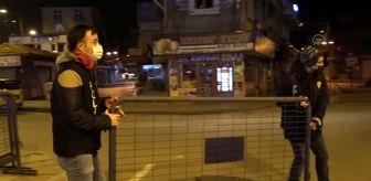 Gaziantep: Son dakika haberi... GAZİANTEP - Kovid-19 tedbirleri kapsamında sokağa çıkma kısıtlaması başladı