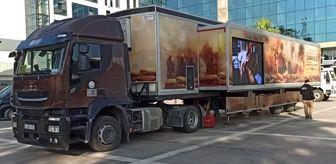 Osmaniye: Son dakika haberleri: Çanakkale Savaşları Mobil Müzesi ziyarete açıldı