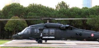 Dha: Son dakika haberleri... Jandarmadan helikopterle kısıtlama denetimi
