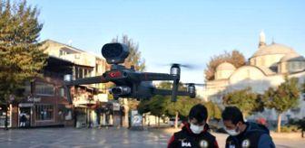Malatya: Malatya'da sokaklar dronla denetleniyor