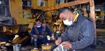 Diyarbakır: Muş İl Özel İdaresi, karla mücadeleye hazır