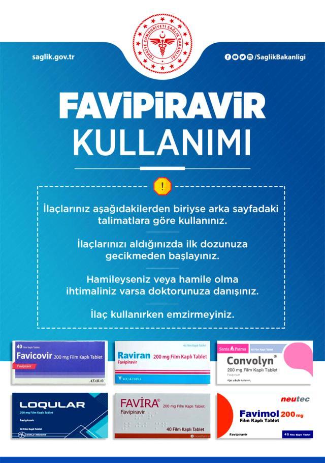 Sağlık Bakanlığı, korona tedavisinde doğru ilaç kullanımına yönelik broşürleri 81 ile gönderdi