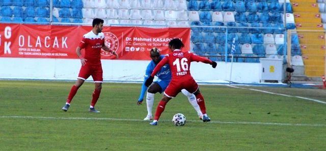 Süper Lig: BB Erzurumspor: 1 FT Antalyaspor: 0 (İlk yarı)