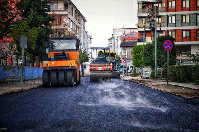 Altınordu'da alt ve üstyapı çalışmaları devam ediyor