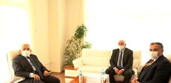 Kayseri: Başkan Büyükkılıç'tan Develi Belediyesi'ne ziyaret