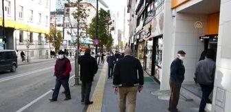 Kırşehir: Sokağa çıkma kısıtlamasının ardından hayat normale döndü